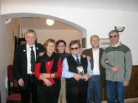 Foto de los miembros del grupo, con Daniel Alvarez