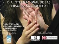 CARTEL DIA INTERNACIONAL DEL LAS PERSONAS SORDOCIEGAS 2012
