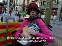"""Lidia León con su último libro """"Mucha guerra por dar"""""""