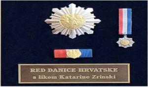Medalla orden croata