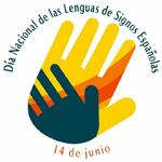 Logo dia de las Lenguas de Signos Españolas