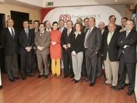 Foto de grupo asistentes firma del acuerdo Fundación ONCE