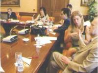 Foto de la mesa del Patronato de FOAPS