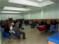 Imagen de la sala donde se realiza la Reunión General de Socios